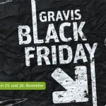 GRAVIS Black Friday 2013: Knallerangebote mit bis zu 50% Rabatt