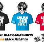 20% Rabatt auf alle Gagashirts