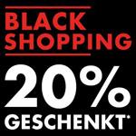Black Shopping bei GALERIA: 20% auf Bekleidung Wäsche, Schuhe und mehr