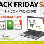 Business Notebook HP Compaq 6530b für 239 Euro statt 299 Euro (aus zweiter Hand, Inkl. Software)