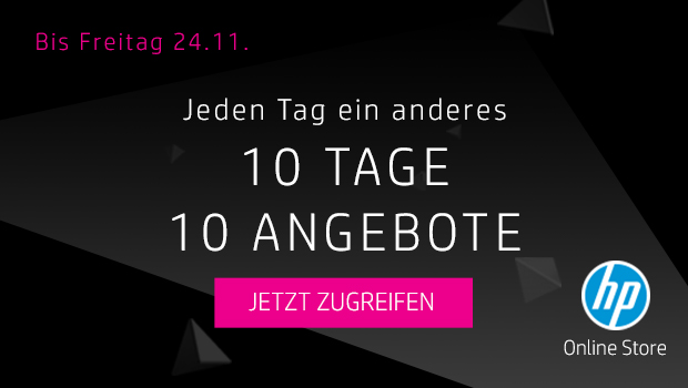 10 tage 10 angebote jeden tag ein anderes top angebot bei hp black. Black Bedroom Furniture Sets. Home Design Ideas