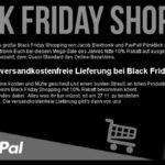 10 Prozent Rabatt auf ausgewählte Aktionsprodukte beim Black Friday Shopping