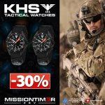 -30% auf 4 limitierte KHS MISSIONTIMER 3 Sondermodelle