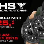 Nur Heute: KHS Tactical Watch Striker MKll für nur 125 Euro statt 179 Euro