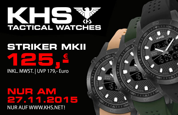 Ksh Uhren khs tactical watches black friday de