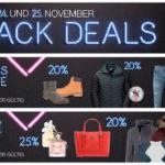 Galeria Kaufhof feiert die Black Deals mit vielen Top-Angeboten