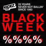KICKZ.com BLACK WEEK 2018: Täglich wechselnde Deals mit mindestens 25% Rabatt