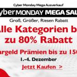 Cyber Monday Mega Sale bei Lightinthebox: Alle Kategorien um bis zu 80% reduziert
