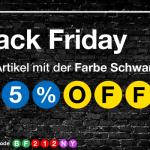25% auf alle schwarzen Artikel bei LoveNY.de