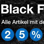 25% Rabatt auf alle schwarzen I LOVE NEW YORK Produkte