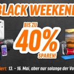 Pfingst-Black-Weekend bei notebooksbilliger mit bis zu 40% ausgewählte Produkte