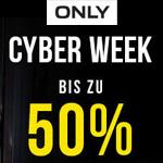 Cyber Week bei ONLY: Spare bis zu 50% auf ausgewählte Favoriten der Saison