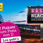Die Plattform Plakat-verkauft.de schenkt dir zum Black Friday ein Plakat!