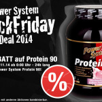 Power System Black Friday Deal 2014: 10% Rabatt auf Power System Protein 90