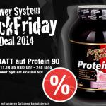 Power System Black Friday Deal 2014: 10% Rabatt auf Power System Protein 90
