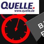 Black Friday bei Quelle: 25 Euro Gutschein auf Großelektro