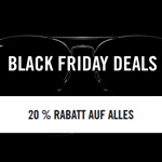 20% auf ALLES bei den Ray Ban Black Friday Deals