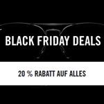20% auf ALLES bei den Ray Ban Black Friday Deals