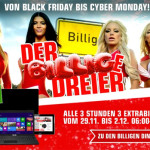 Redcoon Black Friday Deals 2013: Der billige Dreier! (Sonntag)
