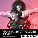 Sicher dir 40 Prozent Rabatt beim Cyber Wochenende Presale von Reebok