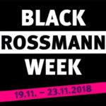 Black Rossmann Week: Jeden Tag wechselnde Coupons in der APP und Online