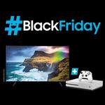 """SAMSUNG #BlackFriday: Zum Kauf eines 49"""" QLED 4K Q70R (2019) gibt es eine Xbox One S 1TB gratis dazu"""