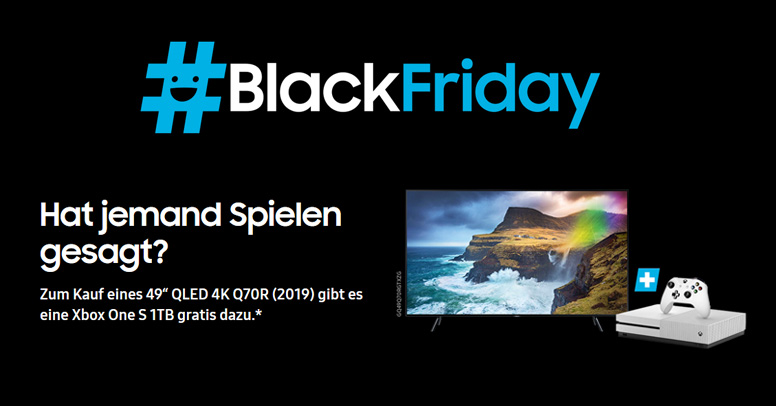 SAMSUNG Black Friday 2019 QLED/XBox Deal