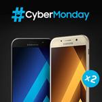 Cyber Monday bei Samsung: Beim Kauf eines Galaxy A5 oder A3 gibt es ein zweites Exemplar gratis dazu!