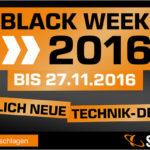 BLACK WEEK 2016 bei Saturn: Sichert euch die besten Angebote des Jahres!