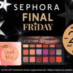 Black Friday bei SEPHORA: 30% Rabatt auf Parfums und Geschenksets + 20% auf Gesichtspflege und Make-Up