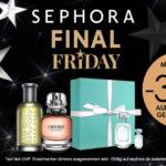 Die Sephora Final Friday Angebote: 30% auf Parfums und Geschenksets + täglich wechselnde Make-Up Deals