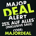 Major Deal Alert bei SNIPES: Shoppe mit 25% Rabatt auf ALLES*