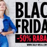 -50% Rabatt* auf Kleidung, Schuhen und Accessoires im TALLY WEiJL Online-Shop