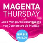 Telekom Magenta Thursday: Jede Menge Aktionsangebote von Donnerstag bis Dienstag