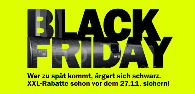 Teufel Black Friday 2019 Verlosung
