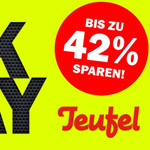 Black Friday 2016 bei Teufel: XXL-Rabatte. Nur heute. Nur 24 Stunden.