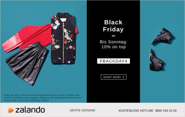 black friday bei zalando bis sonntag 10 extra auf alle sale produkte black. Black Bedroom Furniture Sets. Home Design Ideas