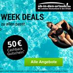 Jetzt Reise buchen und 50 Euro sparen auf ab-in-den-urlaub.de