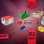 Unglaubliche 15 % Rabatt auf das bereits günstige Sortiment von ab-in-die-BOX.de!