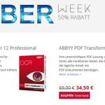 ABBYY Cyber Monday Week Aktion – jetzt 50% sparen!