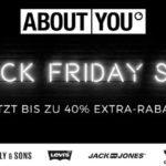 Black Friday bei About You, sicher dir jetzt bis zu 40% Extrarabatt!