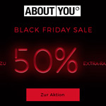 Black Friday Sale bei About You – Sicher dir jetzt bis zu 50% EXTRA-Rabatt