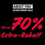 Black Friday Sale bei About You: Sicher dir jetzt bis zu 70% EXTRA Rabatt!