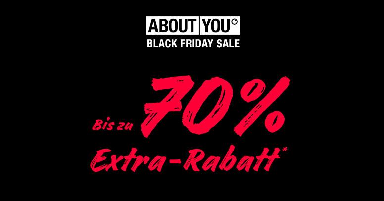 Black Friday Sale bei About You: Sicher dir jetzt bis zu 70