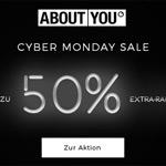 Bis zu 50% EXTRA-Rabatt beim großen Cyber Monday Sale im Store von About-You