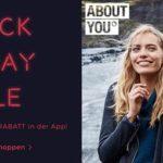 About you feiert den Black Friday mit über 75.000 Markenartikel und bis zu 40% Rabatt