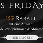 Ausgewählte Spirituosen & Absinthe mit 15% Rabatt auf Absinthes.com