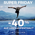 Super Friday bei AccorHotels – Spare 40% auf deinen nächsten Traumurlaub