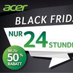 Black Friday bei Acer: Nur 24 Stunden bis zu 50% Rabatt!