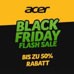 Black Friday Flash Sale im Online Store von Acer – Sicher dir jetzt bis zu 50% Rabatt